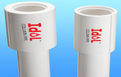 IDOL UPVC Column Pipes For Boring, Size/Diameter: 4 inch, for Drinking Water