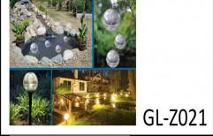 LED Solar Garden Light, 2 W