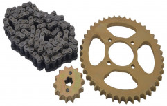 Mild Steel Chain Sprocket, For Automobile Industry