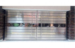 Modern Hinged Residential Stainless Steel Gate for Home