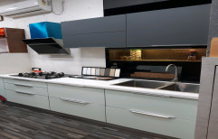 Modern Straight Modular Kitchen