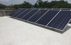 Mounting Structure Grid Tie Solarium 4.62 KW Rajasthan Residential Solar System