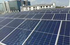 Mounting Structure Rectangular On Grid Solar Power Systems, For Industrial, Capacity: 2 Kw