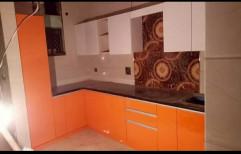 Plastic Acrylic WPC Kitchen Cabinets