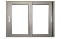 Powder Coated UPVC Sliding Glass Window