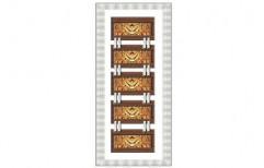 Printed PVC Digital Door for Home