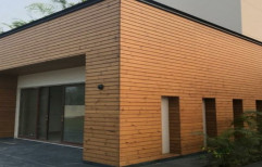 Rectangular Brown Wooden Cladding, Thickness: 20 Mm, Matte