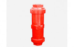 Red Steel Hand Pump Cylinder