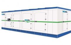 Silent or Soundproof Water Cooling 160kVA Koel Diesel Generator