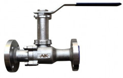 Stainless Steel High Pressure Extended Stem Ball Valve, Size: 15mm To 100mm, Packaging Type: Box