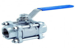 Stainless Steel Low Pressure Ball Valves, For Industrial