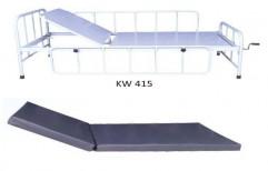 Standard Beds Single Crank Hospital Bed, Polished, Size/Dimension: 6 X 3 Feet