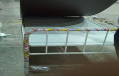 Standard Mild Steel Hospital Bed, Size/Dimension: 3*6