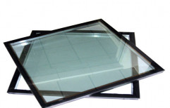 Transparent Insulated Glass, Size: 1x1 M