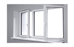 White Modern UPVC Window