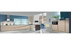 Wooden Modern Modular Kitchen, Warranty: 1-5 Years