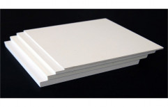 0.55 And 1.0 Elastic White PVC Sheet, Size: 8 X 4