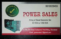 3 Silent Generators, 415, 125 To 1500 Kva