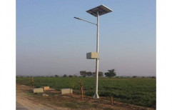 Abs Plastic Pioneer Solar PV Panel Street Light, For Road Side