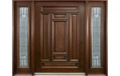 Aisha Exterior Teak Wood Door for Home