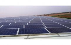 Aluminium Poly Crystalline Solar Power Panel, 24 V