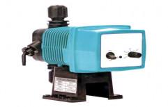 Blue Plastic Chemical Dosing Pump, Electric