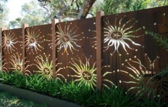 Brown Modern Exterior Wooden Wall Cladding, Thickness: 6 Mm
