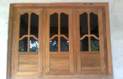 Brown Standard Decorative Wooden Window