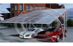 Carport Solar Panel Mounting Structure