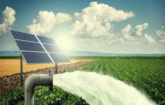 Electric 1 Hp Solar Water Pump, For Agriculture, 2 - 5 HP