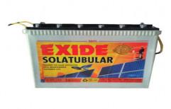 Exide Tubular Solar Battery, Capacity: 7-300 Ah