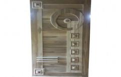 Exterior Teak Wood Door, Size: 36x80 Inch