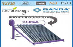 GANGA Evacuated Tube Collector (ETC) Solar Water Heater, Capacity: greater than 100 litres, Warranty: 5 YEAR
