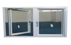 Glass Aluminium Hinged Window