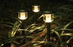 Hardoll 12 X 12 X 44 Cm Waterproof Solar Path Lights & Solar Garden Lights, 1, 600 Mah Aa