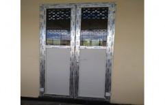 Hinged UPVC Double Door