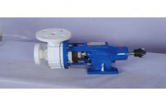 Horizontal Polypropylene Coupled Pump, Capacity: 42 m3 / hr Up to