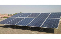 Hybrid Solar Rooftop System for Commercial, Capacity: 10 kW