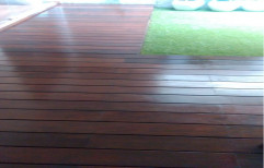 Ideal Floor Wooden Color Ipe Wood, Thickness: 20 Mm