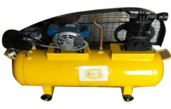 Industrial Reciprocating Air Compressor, Discharge Pressure: 4 To 15 Bar