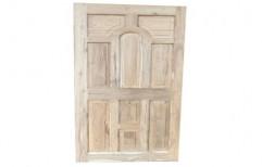 """Interior Designer Teak Wood Door, For Home, Size: 81X38"""""""