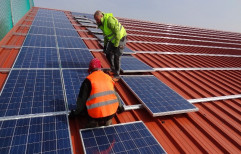 Mehar Complete BOS Solar Panels Installation Services, For Industrial, Capacity: 1 KW - 100 KW