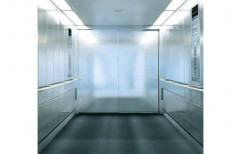 Micro Tech Stainless Steel Hospital Elevator, for Patient Lift