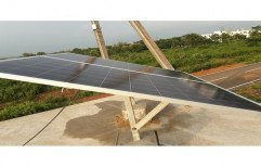 Modular Mild Steel Solar Panel Mounting Structure, Thickness: 5-10mm
