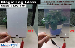 Multicolor Magic Fog Glass/Switchable Glass/Electronic Switchable Glass