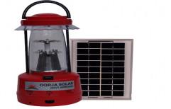 Oorja Red, Blue & Yellow Solar Lantern for Lighting, 3 Watt