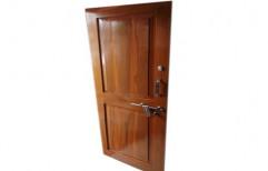 Polished Modern Wooden Panel Door