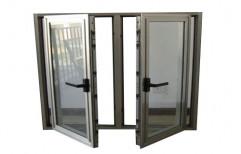Powder Coated Modern Aluminium Casement Window for Home