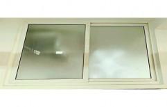 Rectangular UPVC Sliding Kitchen Window, for Residential, Thickness Of Glass: 4-6 mm