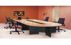 Remtech Brown Conference Table, for Corporate Office, Warranty: 1 Year